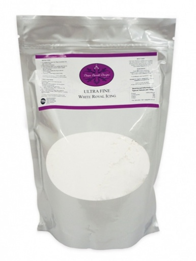 Ultra Fine Royal Icing Mix 600g (Egg Free) - Dawn Parrott
