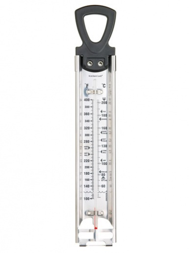 Deluxe Stainless Steel Cooking Thermometer