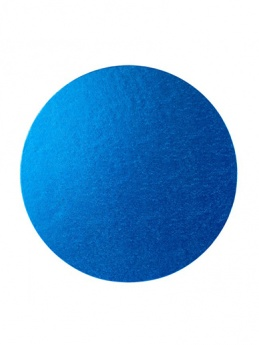 Round Thick Cake Board Drum - Blue