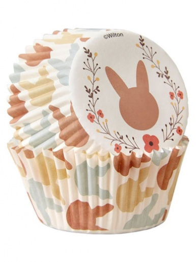 Wilton Standard Baking Cases - Pack of 75 - Bunnies