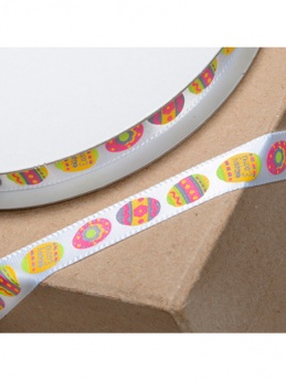 Easter Egg Ribbon - 10mm x 10m