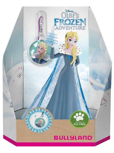 Olaf's Frozen Adventure ''Elsa'' - Cake Topper / Figurine with Charm
