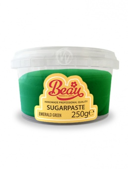 Beau Emerald Green Sugarpaste 250g