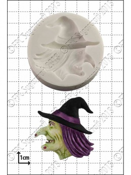 Witch's Head Silicone Mould