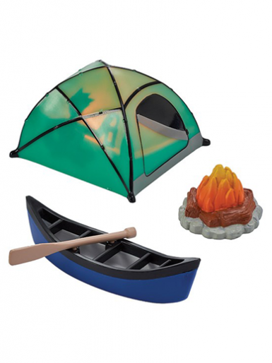 Fireside Camp Cake Topper Set