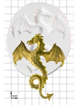 Flying Dragon Silicone Mould