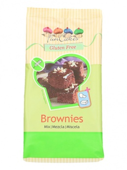 FunCakes Mix for GLUTEN FREE Brownies, 500g
