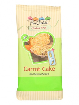 FunCakes Mix for GLUTEN FREE Carrot Cake, 500g