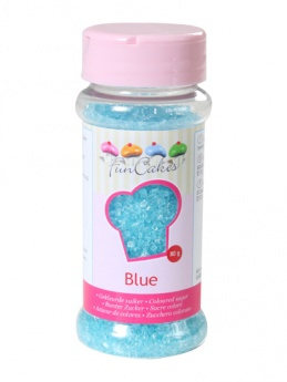 FunCakes Sugar Crystals - Blue 80g