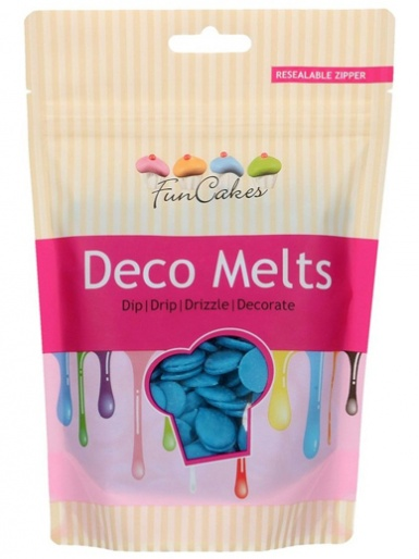 FunCakes Deco Melts 250g - Blue