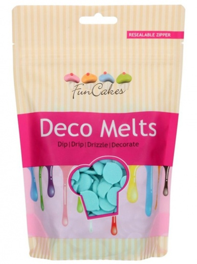 FunCakes Deco Melts 250g - Light Blue