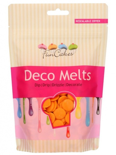 FunCakes Deco Melts 250g - Orange
