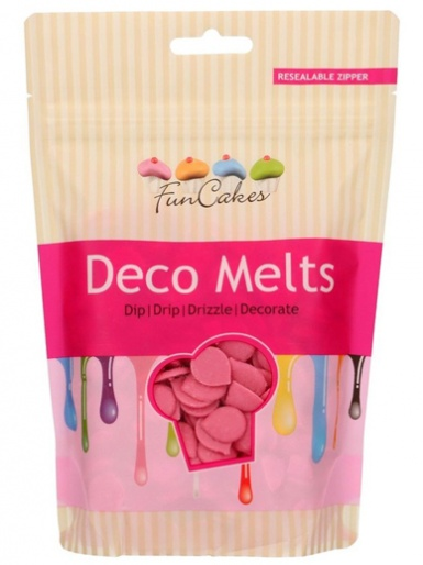 FunCakes Deco Melts 250g - Pink