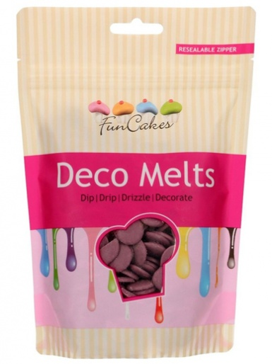 FunCakes Deco Melts 250g - Purple