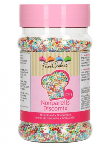 FunCakes Nonpareils - Disco Mix 250g