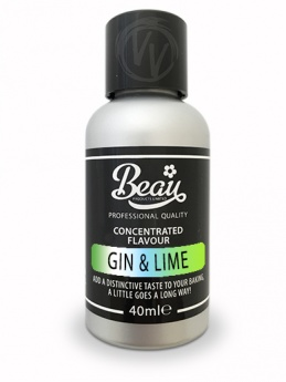 Gin & Lime Concentrated Flavouring 40ml