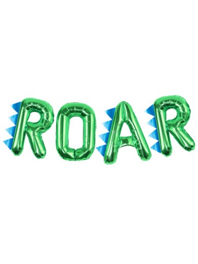 Ginger Ray - Dinosaur Party ROAR Balloon Bunting