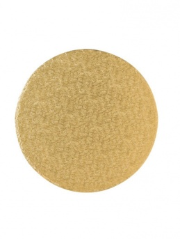 Gold Round Cake Drums 12mm Thick - Pack of 5
