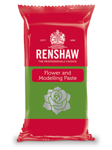 Renshaw FLOWER & MODELLING PASTE - Pre-coloured Grass Green