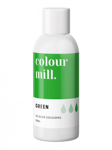Colour Mill - Oil Based Colour - GREEN 100ml