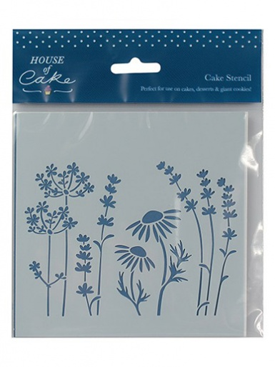 House of Cake Stencil - Meadow