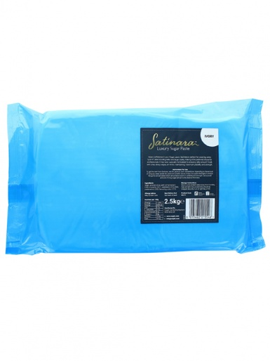 Satinara Luxury Sugar Paste 2.5kg - Ivory
