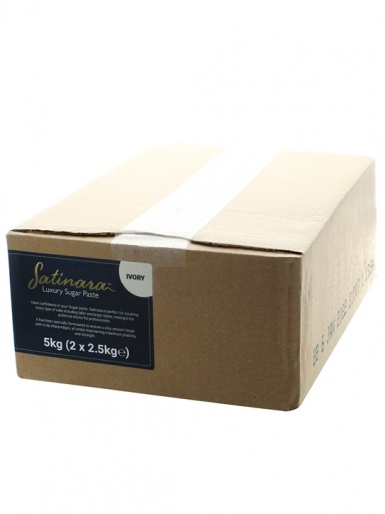 Satinara Luxury Sugar Paste 5kg - Ivory