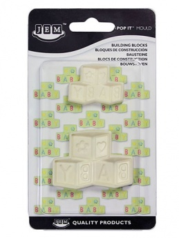 JEM Pop It moulds - Building Blocks