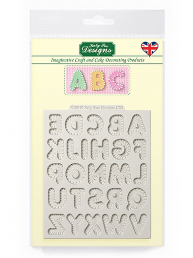 Katy Sue Mould - Stitched Alphabet Small