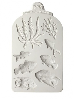 Katy Sue Mould - Fish, Seaweed and Coral