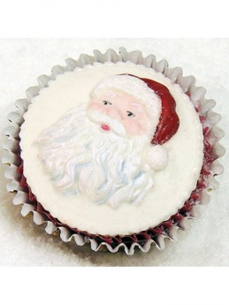 Katy Sue Mould - Cupcake Santa