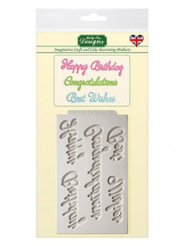 Katy Sue Mould - Word Perfect Birthday Set