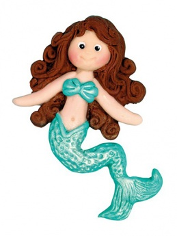 Katy Sue Sugar Buttons Mould - Little Mermaid