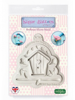 Katy Sue Sugar Buttons Mould - Birdhouse