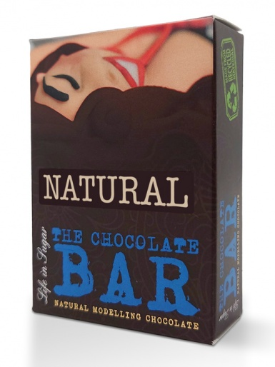 The Chocolate Bar - Natural Modelling Chocolate 120g - Natural White