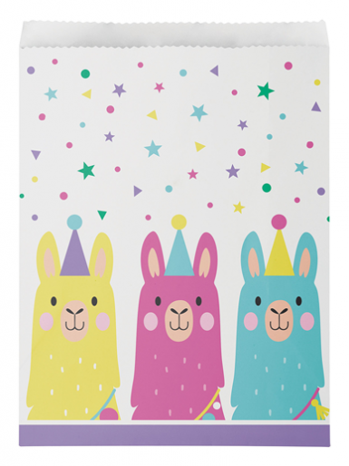 Llama Treat Bags - Pack of 10