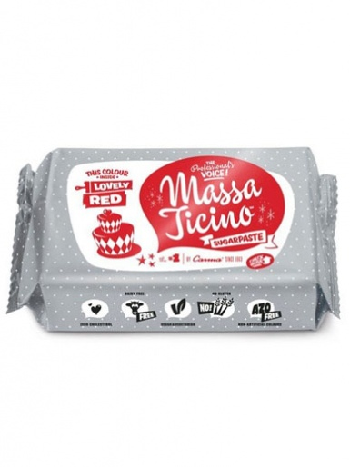 Lovely Red Massa Ticino Sugarpaste 1kg