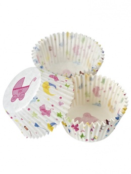 Baby Shower Cupcake Cases 100 pack