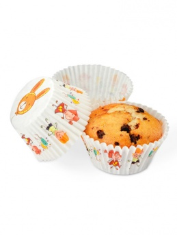 Kiddies Cupcake Cases 100 pack