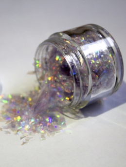 Magic Sparkles - Hint of Violet - Cake Glitter