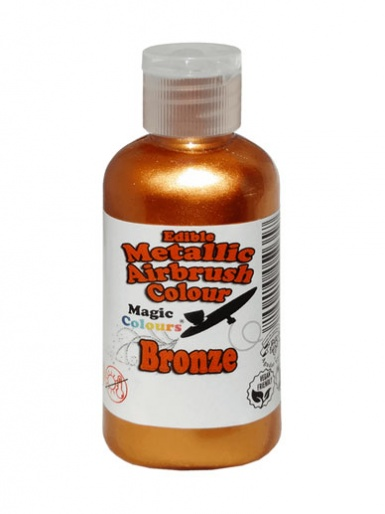 Magic Colours Metallic Airbrush Colour 55ml - Bronze