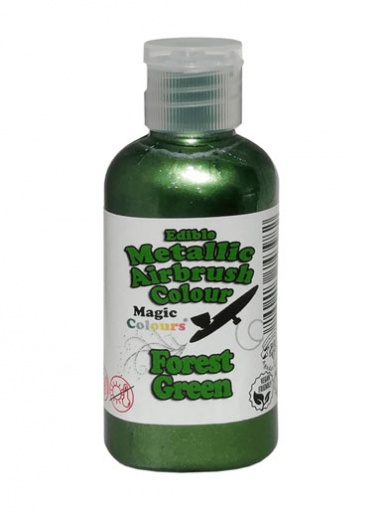Magic Colours Metallic Airbrush Colour 55ml - Forest Green