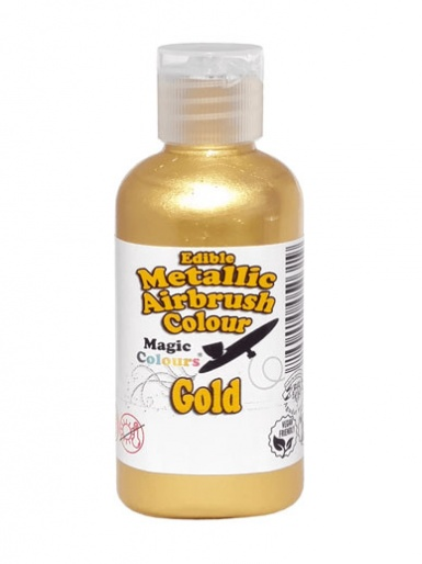 Magic Colours Metallic Airbrush Colour 55ml - Gold