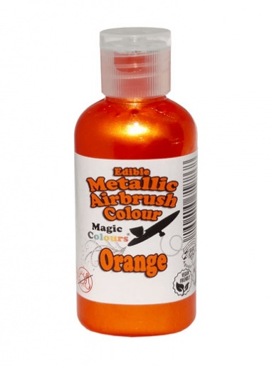 Magic Colours Metallic Airbrush Colour 55ml - Orange
