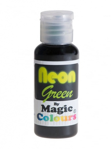 Magic Colours Neon Paste Colour - Green