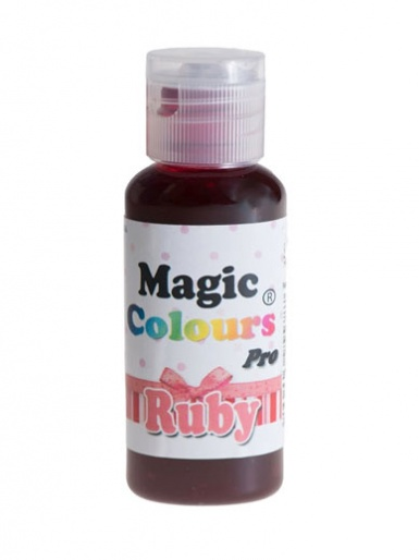 Magic Colours Pro Colouring Gel - Ruby Red