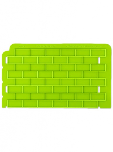 Bricks Silicone Onlay Mould - Marvelous Molds