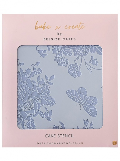 Meadow Cake Stencil - Bake x Create by Belsize Cakes