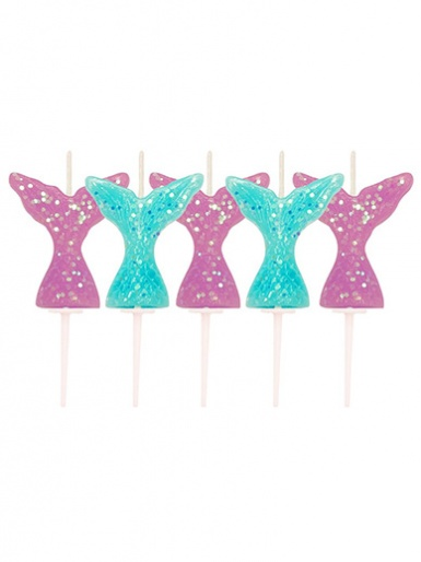Mermaid Tail Candles
