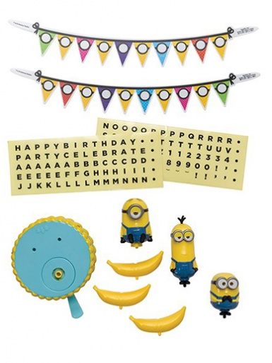 Minions Celebration Cake Decoration Set